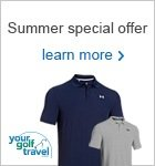 Free UA shirt when booking with Your Golf Travel